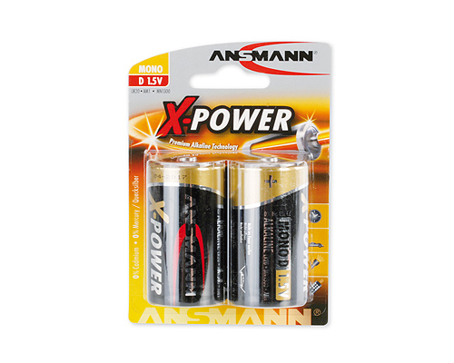 ANSMANN Pin ALKALINE X-Power Mono D LR20 - 5015633