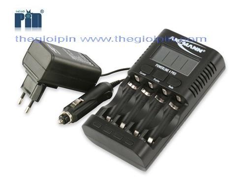 ANSMANN Bộ sạc Pin POWERLINE 4 PRO - 1001-0005