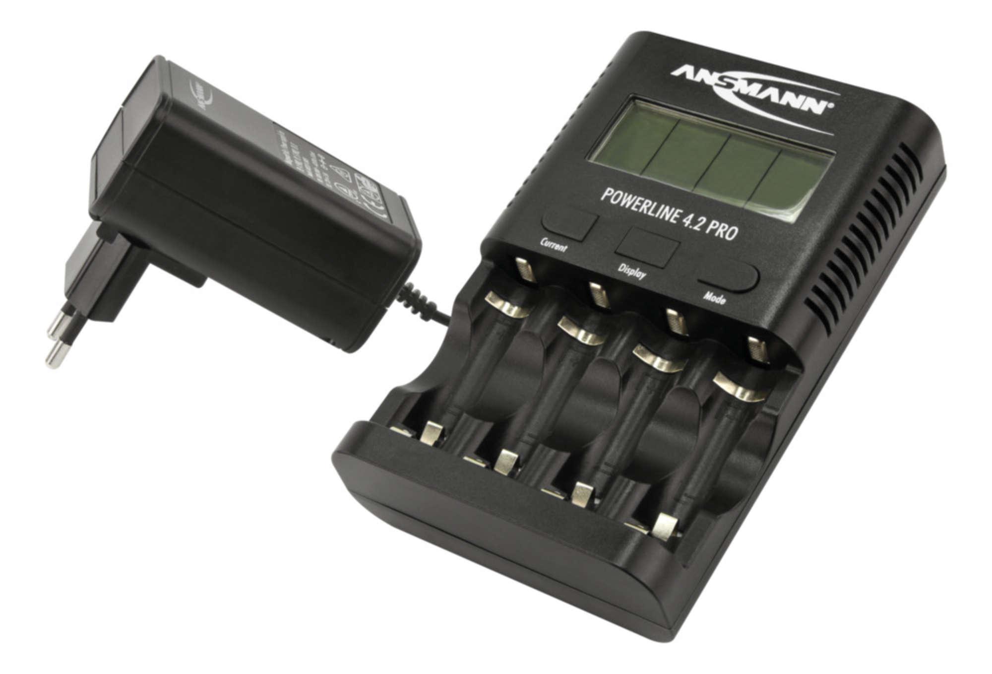 ANSMANN Bộ sạc Pin POWERLINE 4.2 PRO - 1001-0079