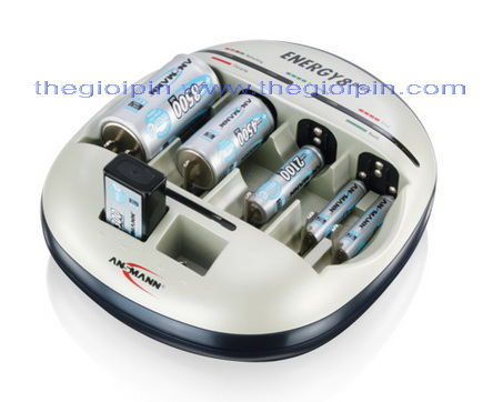 ANSMANN Bộ sạc Pin ENERGY 8 Plus - 5207442