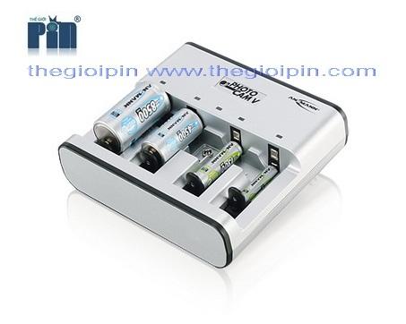 ANSMANN Bộ sạc Pin PHOTOCAM V - 5207473