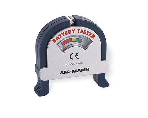ANSMANN Bộ kiểm tra Pin - Battery Tester - 4000001